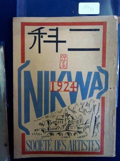 [AVANT-GARDE JAPONAISE]. NIKWA 1924. CATALOGUE...