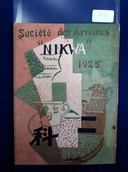 [AVANT-GARDE JAPONAISE]. NIKWA 1924. CATALOGUE D'EXPOSITION. Osaka, 1924. In-8,...