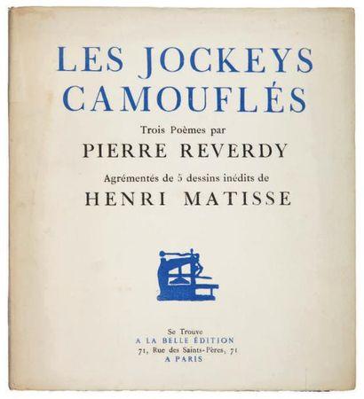 REVERDY Pierre. MATISSE Henri.