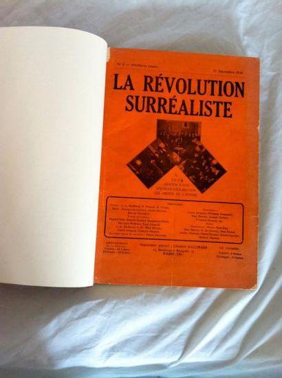 REVUE. LA RÉVOLUTION SURRÉALISTE. Paris,...