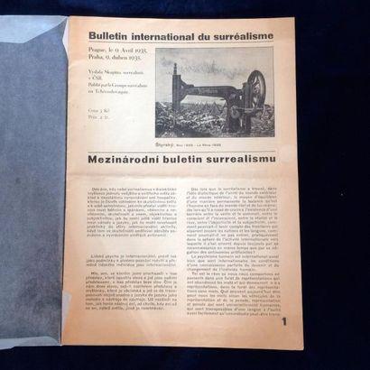 REVUE. BULLETIN INTERNATIONAL DU SURRÉALISME....