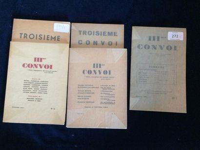 REVUE. TROISIÈME CONVOI. Numéro 1 de 1945...