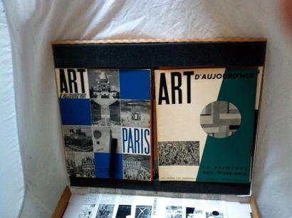 REVUE. ART D'AUJOURD'HUI. Paris, André Bloc,...