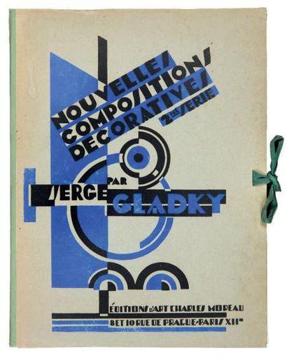 [ART DÉCO]. GLADKY Serge. NOUVELLES COMPOSITIONS...