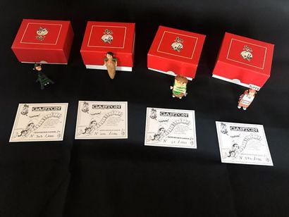 Lot de 4 figurines Pixi: - Gaston déguisé...