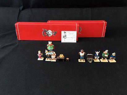 Lot de 27 figurines Pixi:- Cetautomatix:...