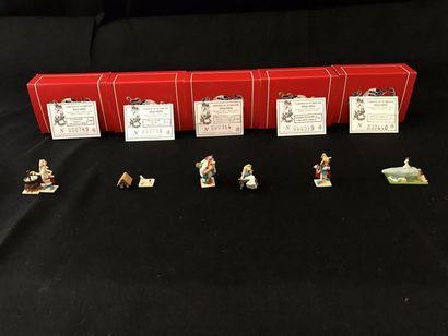 Lot de 8 figurines Mini Pixi:- Assurancetourix...