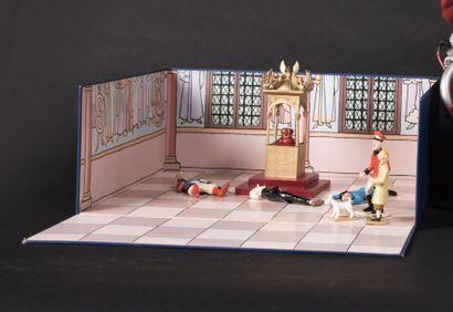 Pixi, Le sceptre d'Ottokar, boîte diorama...