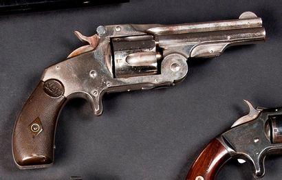 Revolver Smith & Wesson baby russian, cinq...