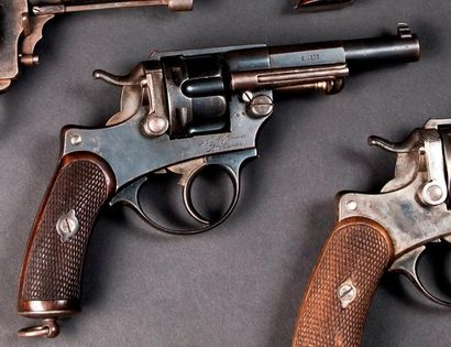 Revolver d'ordonnance modèle 1874 S 1877,...