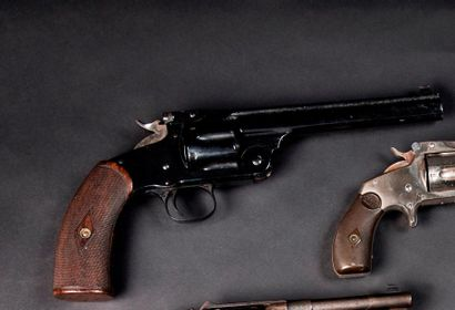 Revolver Smith & Wesson n°3 New Model, six...