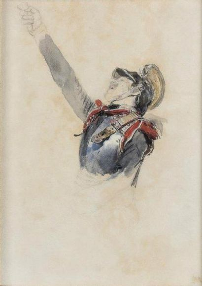 Jean-Louis MEISSONIER (Lyon 1815 - Paris 1891)
