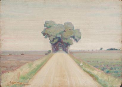 Lot de 2 oeuvres de Pierre Chapuis ( 1863-1942)...