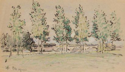 Lot de 5 oeuvresPierre Chapuis ( 1863-1942)...
