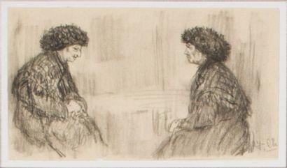 Lot de 5 oeuvres de Pierre Chapuis ( 1863-1942)...