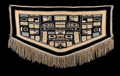Couverture de danse Chilkat Tlingit, Côte...