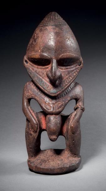 Statuette masculine, kamdimboang, Côte du...