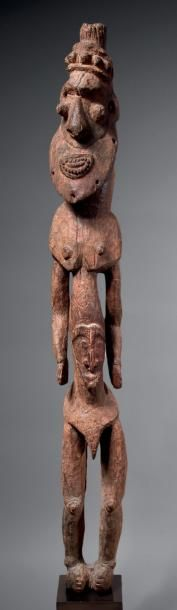 Figure d'ancêtre masculin, Aire Biwat, Cours...