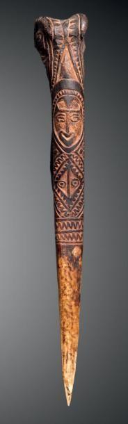 Dague, Abelam, Papouasie Nouvelle-Guinée...