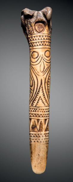 Courte dague, Abelam, Papouasie Nouvelle-Guinée...