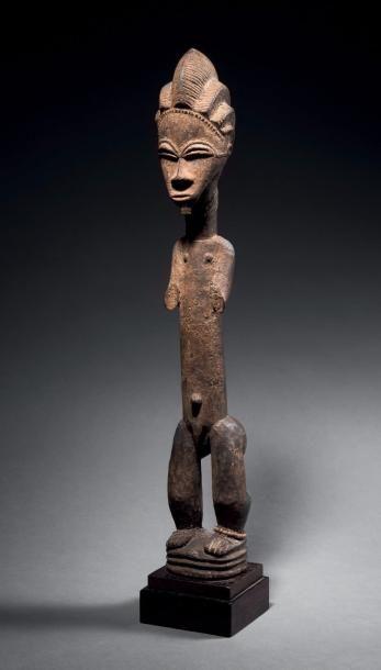 Statuette Baoulé blolo bian, Côte d'Ivoire...