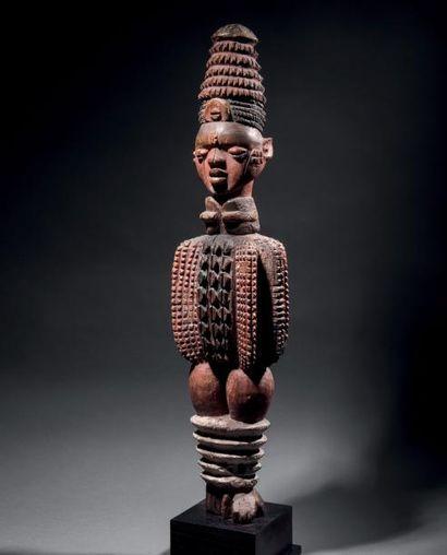 Effigie féminine Kuyu, République du Congo...