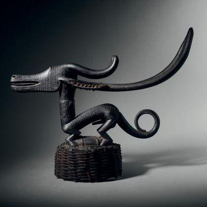 Antilope tji wara Bamana, Mali Bois à patine...