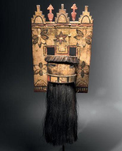 Masque Hopi Angak'china à tableta, Zuni,...