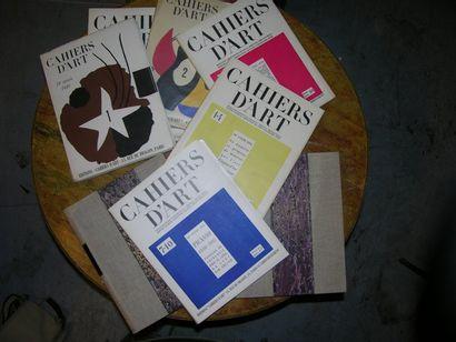 Revue Cahiers d'Art, de 1926 à 1950. (Manque...