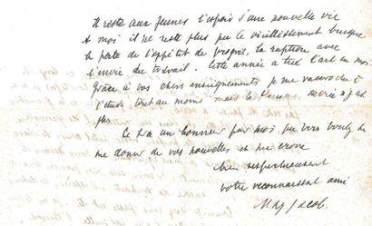 JACOB (MAX) (1876-1944) Correspondance de 13 L.A.S. et 2 Cartes postales autographes...