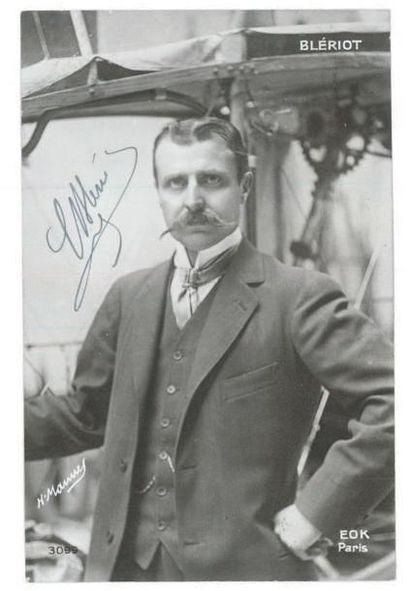 AVIATION - BLÉRIOT - LATHAM. Blériot (Louis) constructeur d'avions et pionnier de...