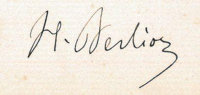 BERLIOZ (Hector) (1803-1869)