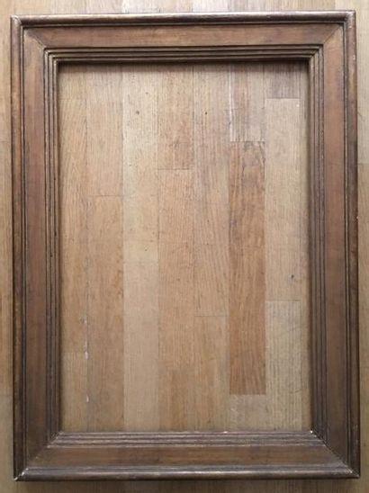 Cadre années 30 72 x 49 cm - Profil: 8,5...