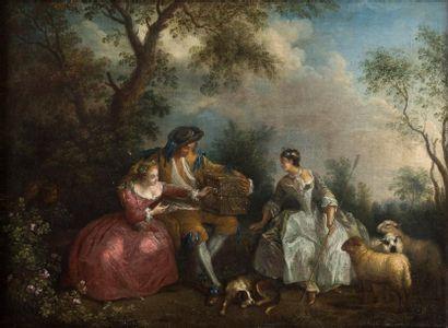 ÉCOLE FRANÇAISE DU XVIIIE SIÈCLE, Suiveur de Nicolas Lancret