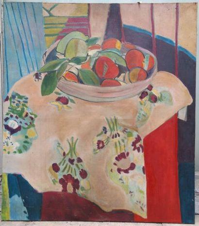 Copie d'après Henri Matisse Nature morte...