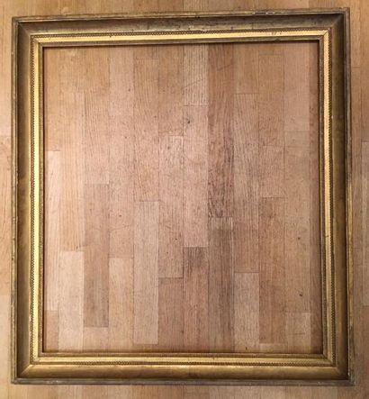 Grand cadre Néoclassique 88 x 77cm - Profil:...