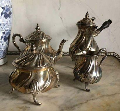 Service à thé et café Italie, par MARTY TORINO...