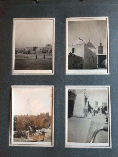 Lot de 2 albums de photographies du Maghreb...