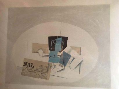 Georges BRAQUE (1882-1963) Nature morte Lithographie...