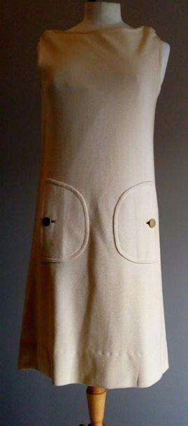 GIVENCHY - Robe de cocktail molletonée en...