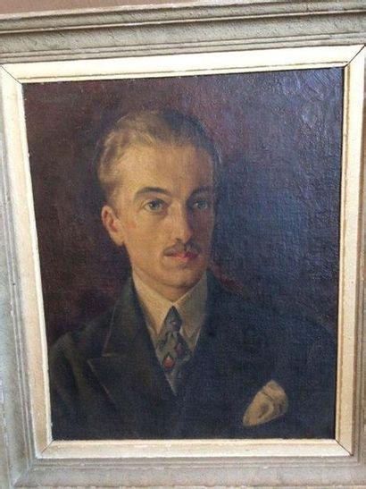 Georges de POGEDAIEFF(1897-1971) Portrait...