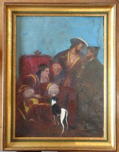 D'après BONINGTON Portrait de François Ier...