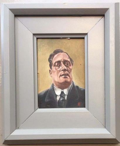 Patrice BRISBOIS Portrait de Guillaume Apollinaire...