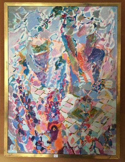 Claude MARECHAL (1925-2009) Composition abstraite...