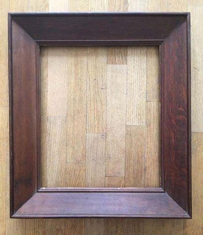 Cadre en chêne XIXème 49 x 41,5 x 10