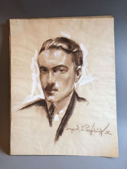 Georges de POGEDAIEFF (1897-1971) Portrait...