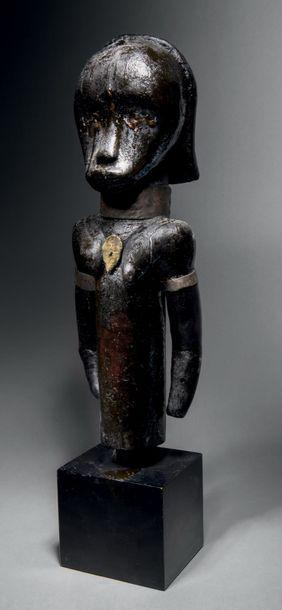 ? Buste féminin, figure d'ancêtre du byeri...