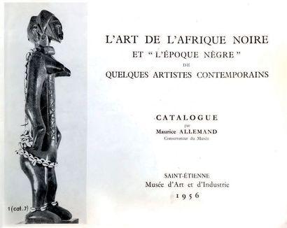 ? Buste féminin, figure d'ancêtre du byeri (eyema byeri) Fang, Groupe Ntumu Afrique...