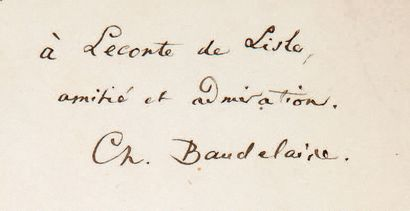 BAUDELAIRE (Charles).
