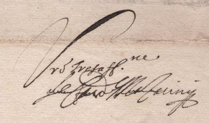 MAZARIN (Jules cardinal de) ministre de Louis XIII et Louis XIV (1602-1661)